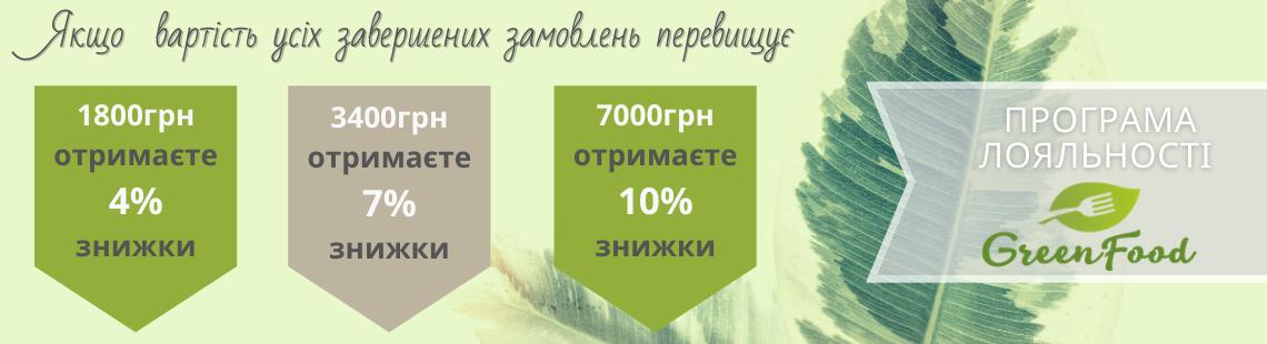 Система знижок GreenFood