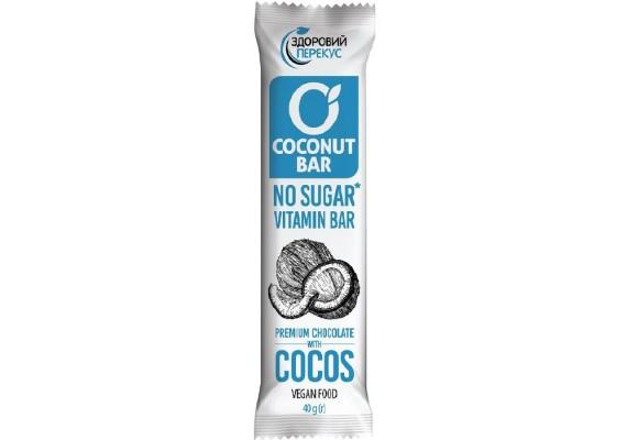 Батончик кокосовый в шоколадной глазури 40Г