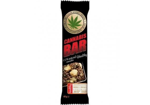 Батончик-мюсли с фундуком+семена каннабиса 40Г