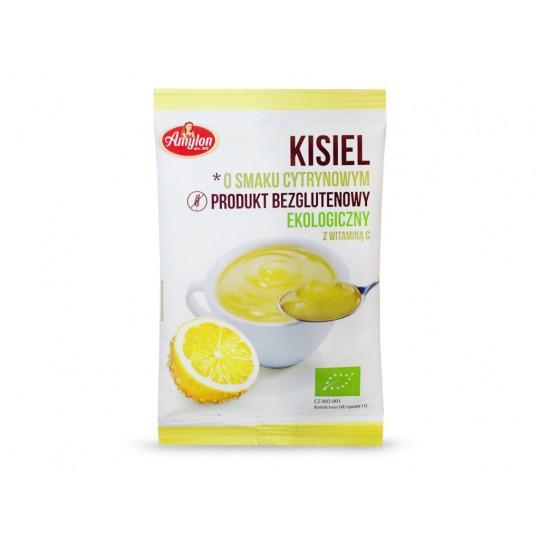 BIO Кисіль лимонний без глютену 30 г - AMYLON