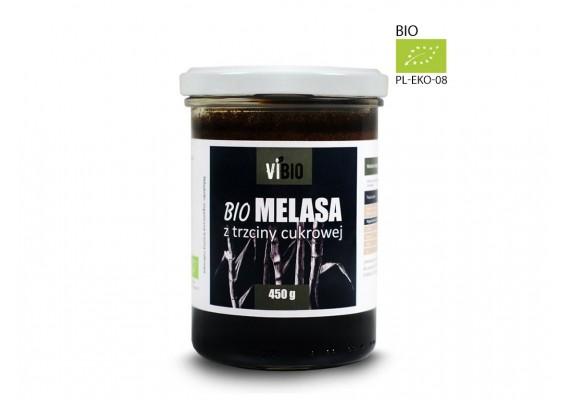 Органическая тростниковая патока (меласса) 450г