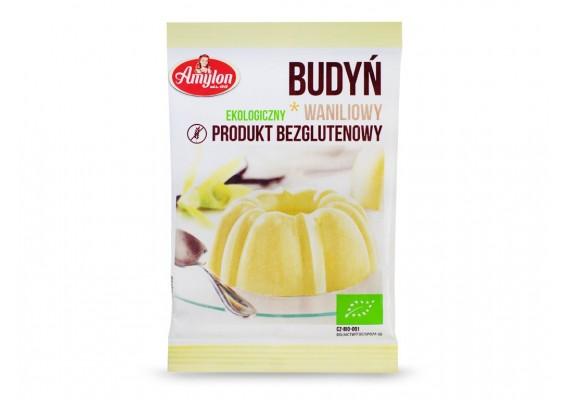 BIO Пудинг ванільний без глютену 40 г - AMYLON