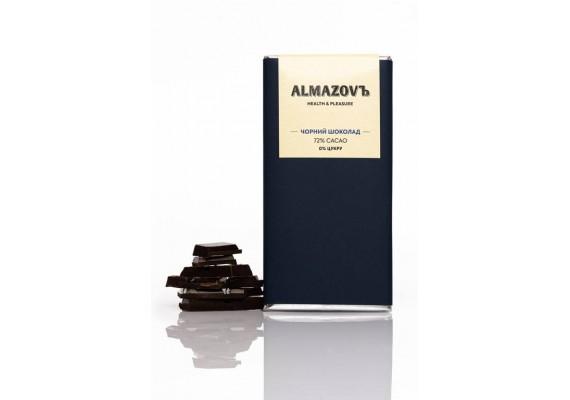 Черный шоколад 80г | 72% cacao | 0% сахара