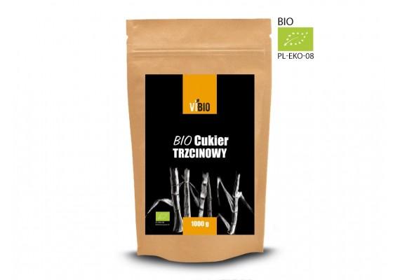 Экологический Тростниковый сахар светлый 1000 грамм
