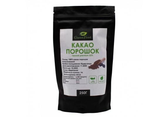 Какао порошок темный (Premium)