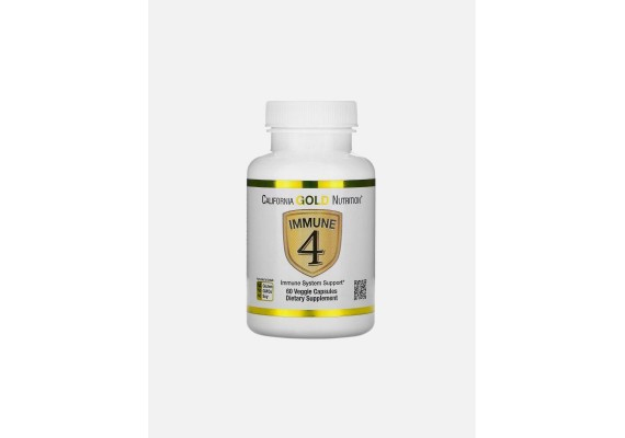 "Комплекс для укрепления иммунитета ""Immune 4"" с цинком и витамином С - California Gold Nutrition"