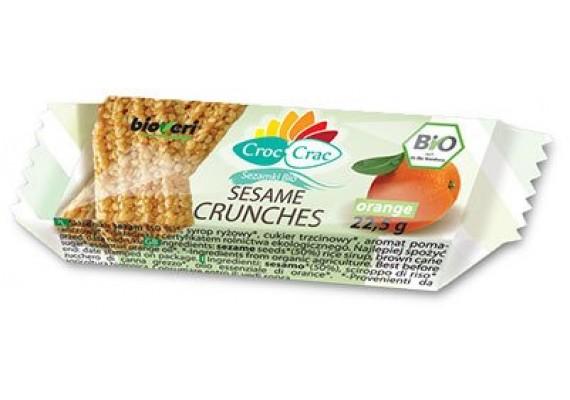 Козинаки кунжутные апельсиновые 22,5 грамм ЭКО - BIOVERI