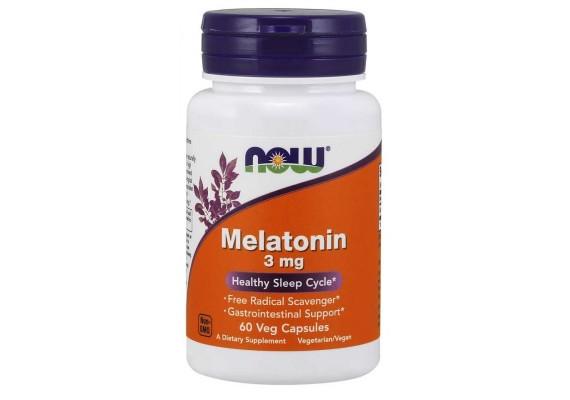 Мелатонин 3 мг - NOW FOODS