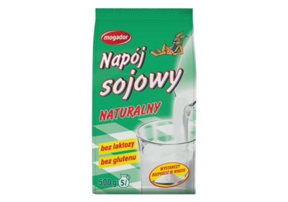 Натуральное сухое соевое молоко (напиток) 500г - MOGADOR