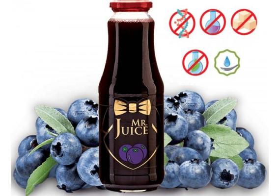 Натуральный Черничный сок с мякотью 1000 МЛ