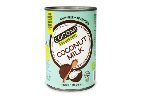 Органічне кокосове молоко 17% 400 мл COCOMI
