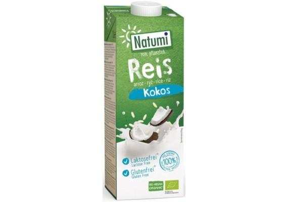 Органічне Рисово-кокосове молоко NATUMI 1 Л