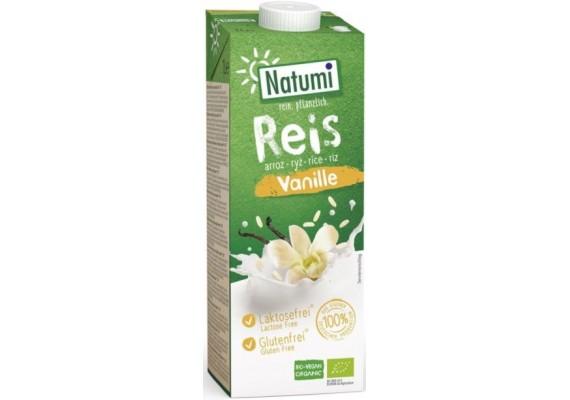 Органічне Рисово-ванільне молоко NATUMI 1 Л