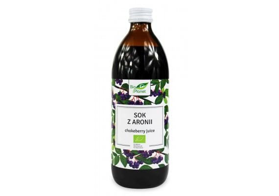 Органічний Сік з аронїї (Чорноплідна горобина) 500 МЛ