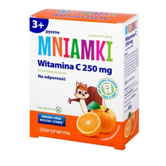 Пастилки з вітаміном C