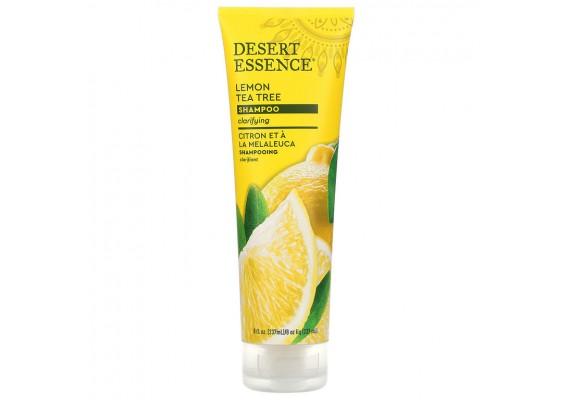 Шампунь - лимон и чайное дерево 237 мл Desert Essence