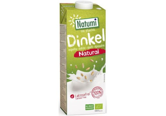 Органическое Спельтовое молоко Natumi 1 Л