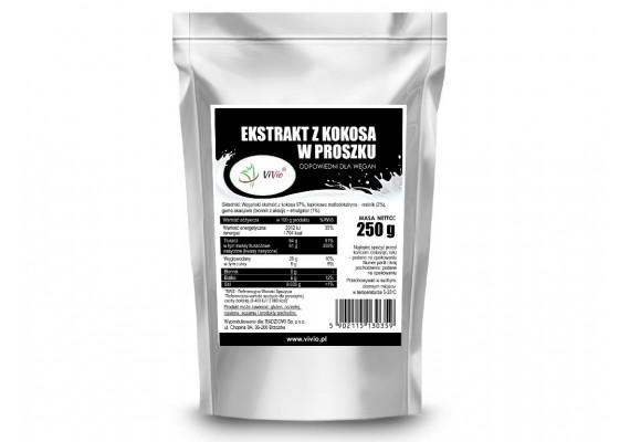Сухое кокосовое молоко (Веганское) 250 грам