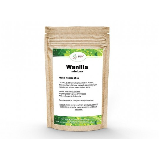 Ваніль натуральна мелена 25 грам