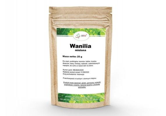 Ваниль натуральная молотая 25 грам