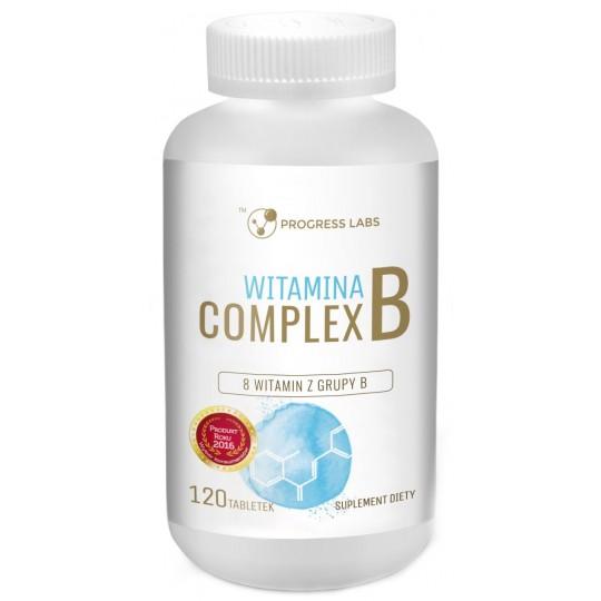 Вітамін B комплекс 120 табл. - Progress Labs