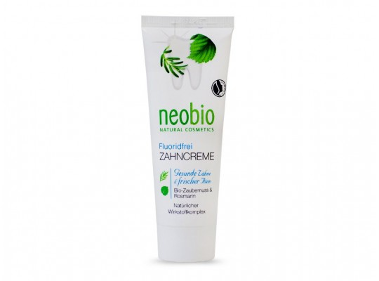 Зубна паста без фтору 75 мл - NEOBIO